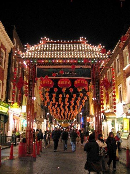 Visitar Chinatown en Londres
