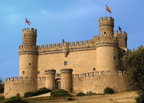 Castillo de manzanares el real turistum - Polideportivo manzanares el real ...