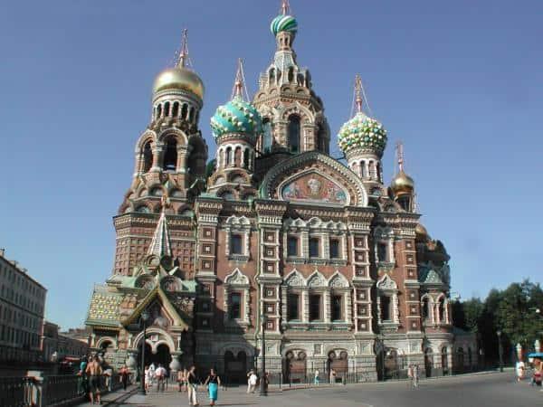 Catedrales para visitar en San Petersburgo