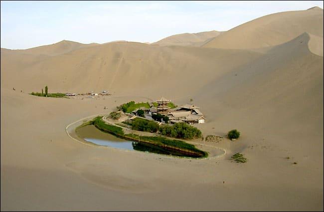 Lago de Dunhuang
