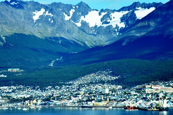 Approach to Ushuaia