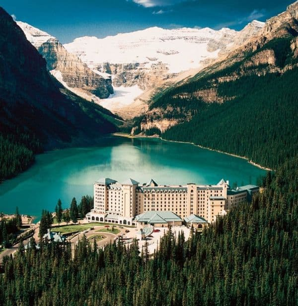Lago Louise en Alberta