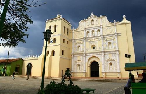 La ciudad colonial de Comayagua.