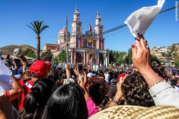 El Festival de Andacollo en Chile