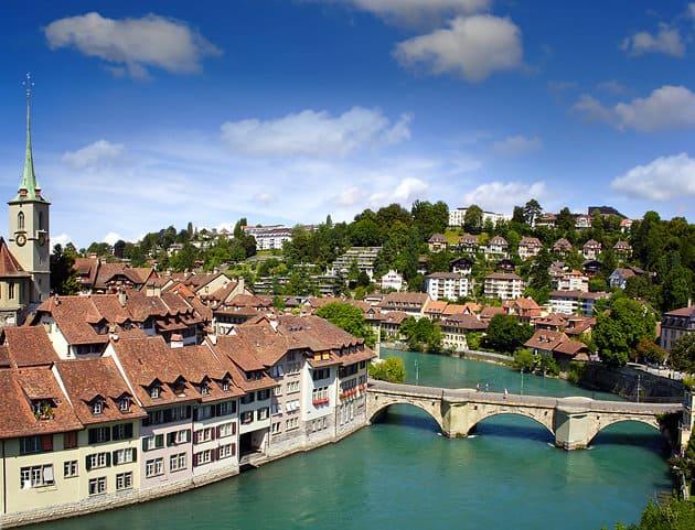 Casco antiguo de la ciudad de Berna