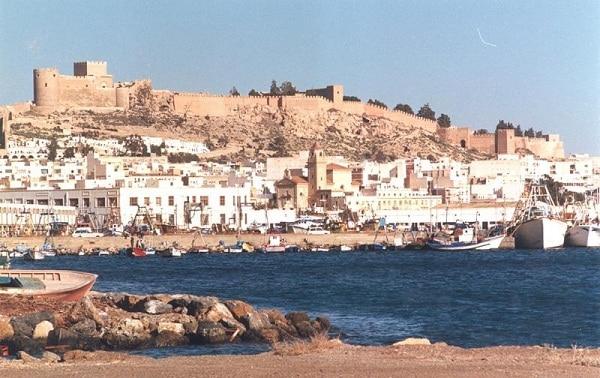 Vista panorámica de Almería.