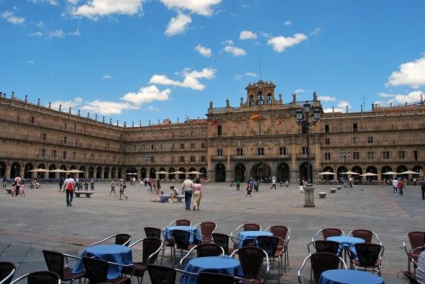 La ciudad de Salamanca