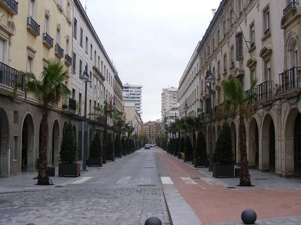 La ciudad de Huelva
