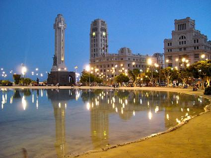 La ciudad de Santa Cruz de Tenerife