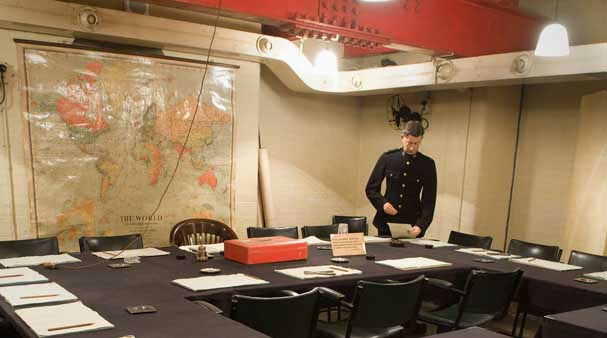 Cabinet war rooms turistum - Churchill war cabinet rooms ...