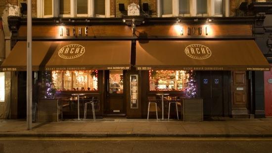 Ir a restaurantes en Londres