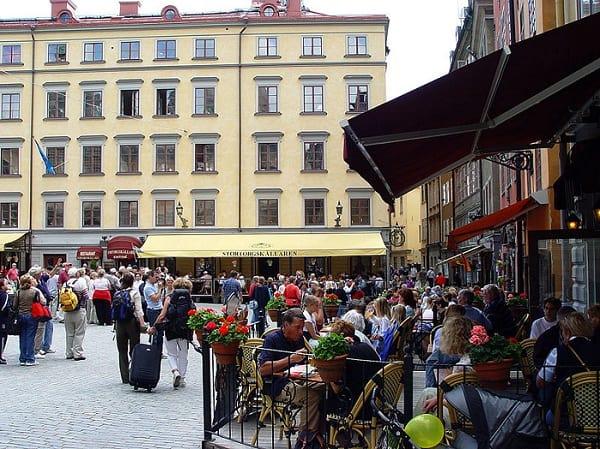 La Ciudad Vieja  de Estocolmo o Gamla Stan
