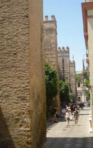 La calle de la Alcazaba