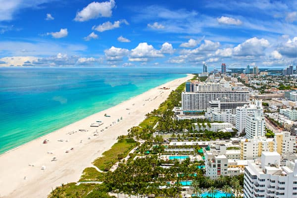 Vuelos low cost a Miami
