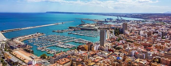La ciudad de Alicante