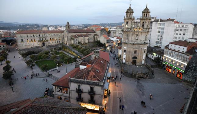 La ciudad de Pontevedra