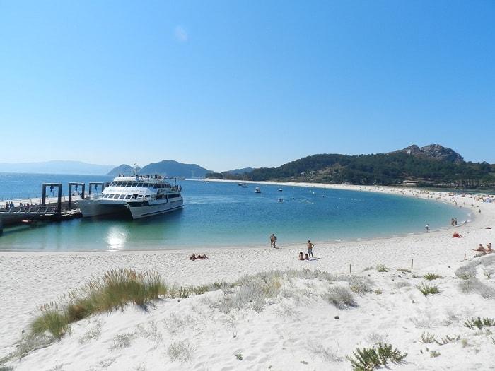Islas Cíes en España