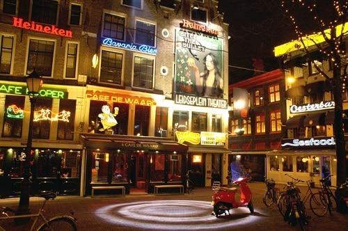 La vida nocturna de Amsterdam