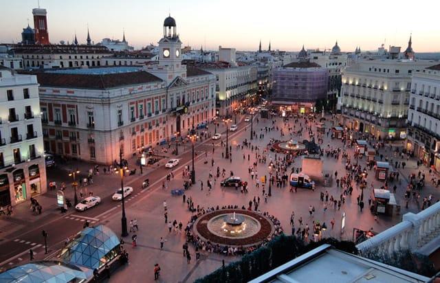 Recorrido por el centro histórico de Madrid