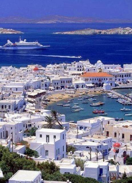 Visitar Santorini en el Mar Egeo